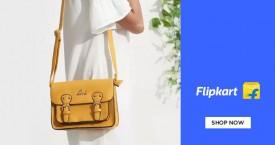 Flipkart Min 60% Off on Handbags.