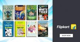 Flipkart Upto 75% OFF on Children's Fiction