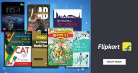 Flipkart Min 50% Off on Educational, Fiction, Family Books etc