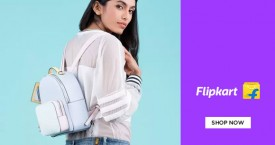 Flipkart Min 40% off on Bags Collections.