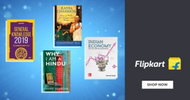 Flipkart Min 40% Off on Popular Authors Books.