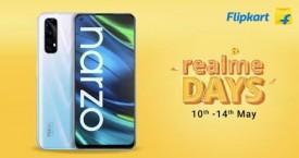 Flipkart Realme Days : Upto 40% Off (10 May to 14 May '21)