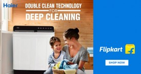 Flipkart Great Offer : Haier Washing Machines Starting at Rs. 8250