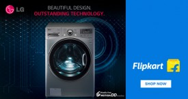 Flipkart Special Deal : Upto 30% Off on LG Washing Machines