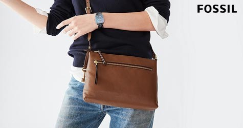 Fossil Hot Deal : Womens Crossbody Hand Bags Starting at Rs. 2847
