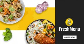 Freshmenu Upto 20% Off & Free Delivery on First Order.