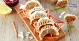 Freshtohome Handcrafted Chicken Schezwan Dumplings / Momos Rs. 125