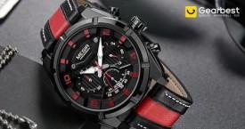Gearbest Hot Deal : Upto 50% Off Men's Watches