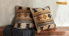 Hometown Best Deal : Cushion Covers Starting From Rs. 195