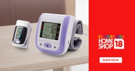 Homeshop18 Hot Deal : Upto 70% OFF on Health Monitoring Products