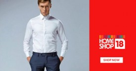 Homeshop18 Special Offer : Upto 75% OFF on Formal Shirts