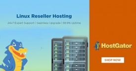 Hostgator Hot Deal : Reseller Hosting Starting at Rs.1699/mo