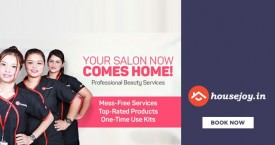 Housejoy All-In-One Dhamaka : Get 15% OFF on Beauty Packages + 10% Paypal Cashback