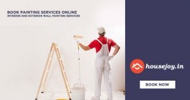 Housejoy Get Painting Services At Just Rs.7/Sqft + Extra 50% Cashback From Paypal