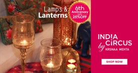 Indiacircus Hot Deal : Upto 25% OFF on Lamps And Lanterns