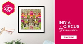 Indiacircus Get Flat 20% OFF on Contemporary Wall Arts