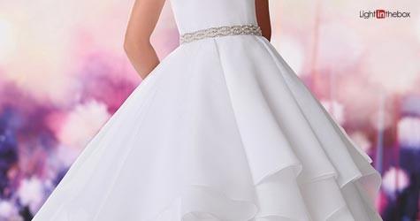 Lightinthebox Mega Deal : Upto 75% Off On Flower Girls Dresses