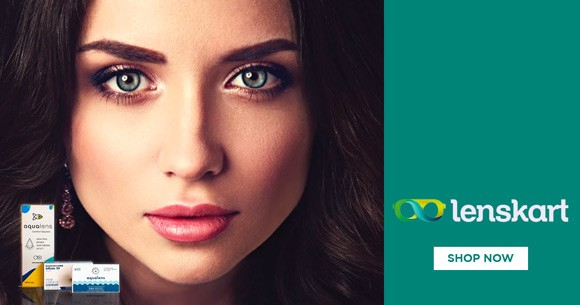 Special Offer : Coloured Contact Lenses Starting from Rs. 269