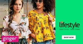 Lifestyle Lifestyle Offer : Upto 50% OFF on Ginger Women's Wear