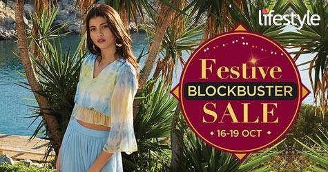 Festive Blockbuster Sale : Upto 70% OFF (16 Oct to 19 Oct '20)