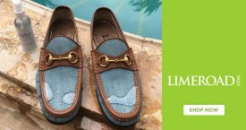 Limeroad Footwear Sale : Sandals, Loafers & Sports Shoes For Men's Under Rs. 699