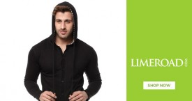 Limeroad Men's Fashion Sale : Gritstones T Shirts, Suits, Blazers & Jeans Starting From Rs. 328
