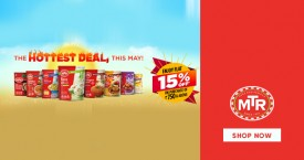 Mtr Special Offer : Enjoy Flat 15% Off On Purchase of Rs. 750 & Above