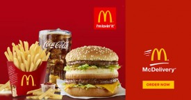 Mcdelivery Get Any Regular Burger Meal Free On Purchase Of Rs. 450 & Above