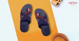 Metroshoes Best Deal : Upto 40% OFF on Men's Casual Slippers
