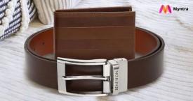 Myntra Great Deal : Upto 70% OFF on Belts & Wallets