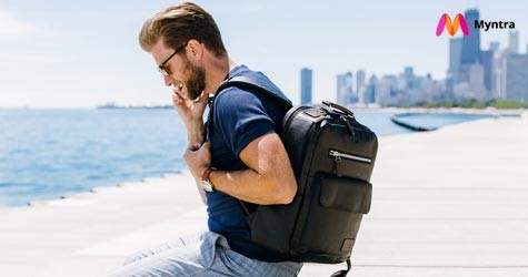 Myntra Best Deal : Upto 70% OFF on Backpacks