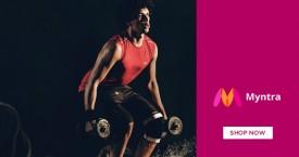 Myntra Men's Sportswear - Upto 50% OFF.