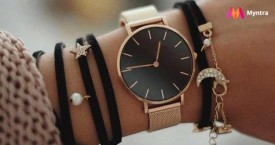 Myntra Special Offer : Upto 60% OFF on Women Watches