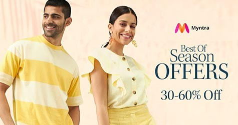 Best of Season Offers : 30% - 60% OFF on Fashion