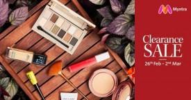Myntra Clearance Sale : Beauty Upto 60% Off (26 Feb to 2 Mar '21)