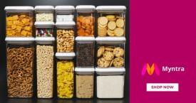 Myntra Best Deal :Upto 55% Off on Kitchen Storage