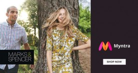 Myntra Upto 30% OFF on Marks & Spencer