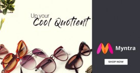 Myntra Upto 50% Off on Sunglasses.