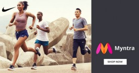 Myntra Upto 50% Off on Nike.