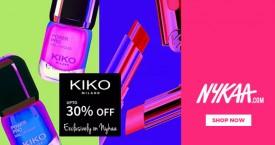 Nykaa Upto 30% OFF on Kiko Milano