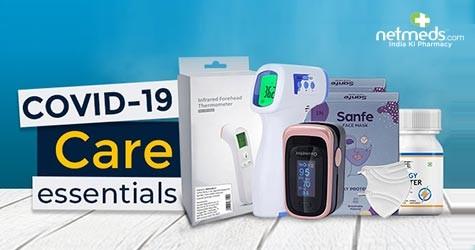 Netmeds Covid-19 Care Essentials : Upto 75% Off