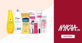 Nykaa Upto 40% Off On Your Favourite Beauty Brands.