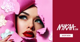 Nykaa Upto 40% Off on Spectacular Spring Makeup.