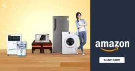 Amazon Large Appliances : Upto 60% OFF on Refrigerators, Washing Machines, Air Conditioners & More