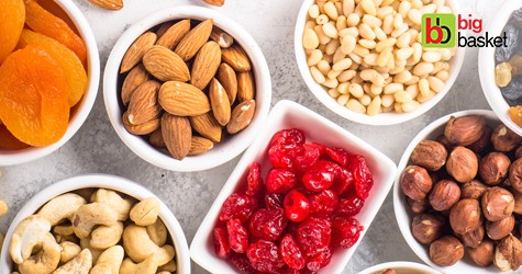 Bigbasket Special Offer : Upto 35% OFF on Dry Fruits