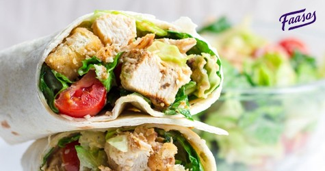 Best Deal : Italian Chicken Wrap Starting at Rs. 105
