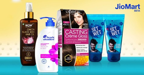 Jiomart Special Offer : Get Upto 50% OFF on Hair Care Products