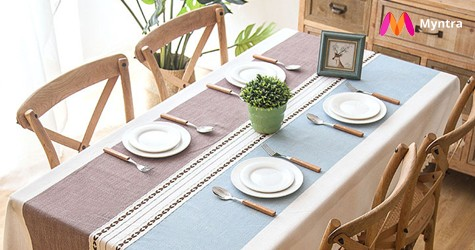 Best Deal : Table Covers & Furnishings Upto 60% Off