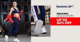 Reebok Grand Sale : Women's Walking Collection Upto 50% OFF