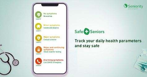 Track Your Daily Health Parameters & Stay Safe